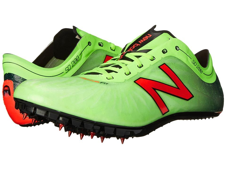 New Balance - SD200v1 (Toxic/Black) Mens Running Shoes