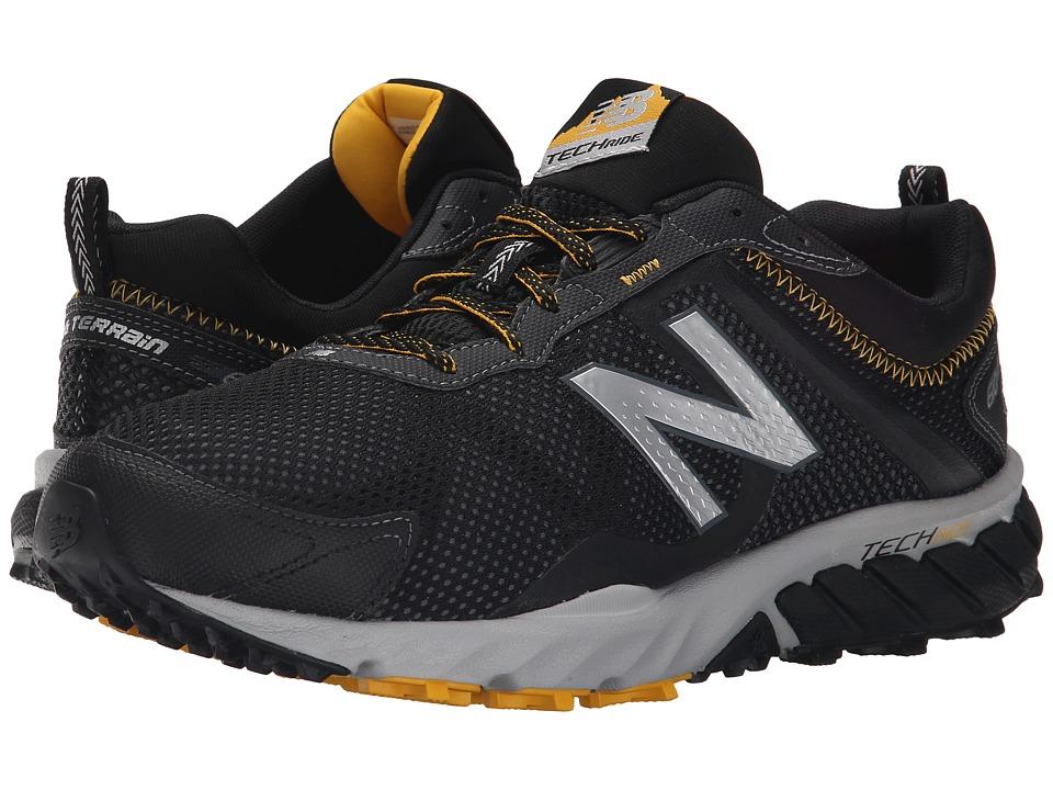 New Balance - T610v5 (Black/Gold Rush) Mens Running Shoes