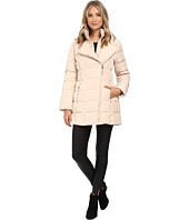 Jessica Simpson - Asymmetrical Zip Down with Bib and Hood