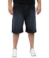 IZOD - Big & Tall Denim Comfort Shorts in Dark Tint