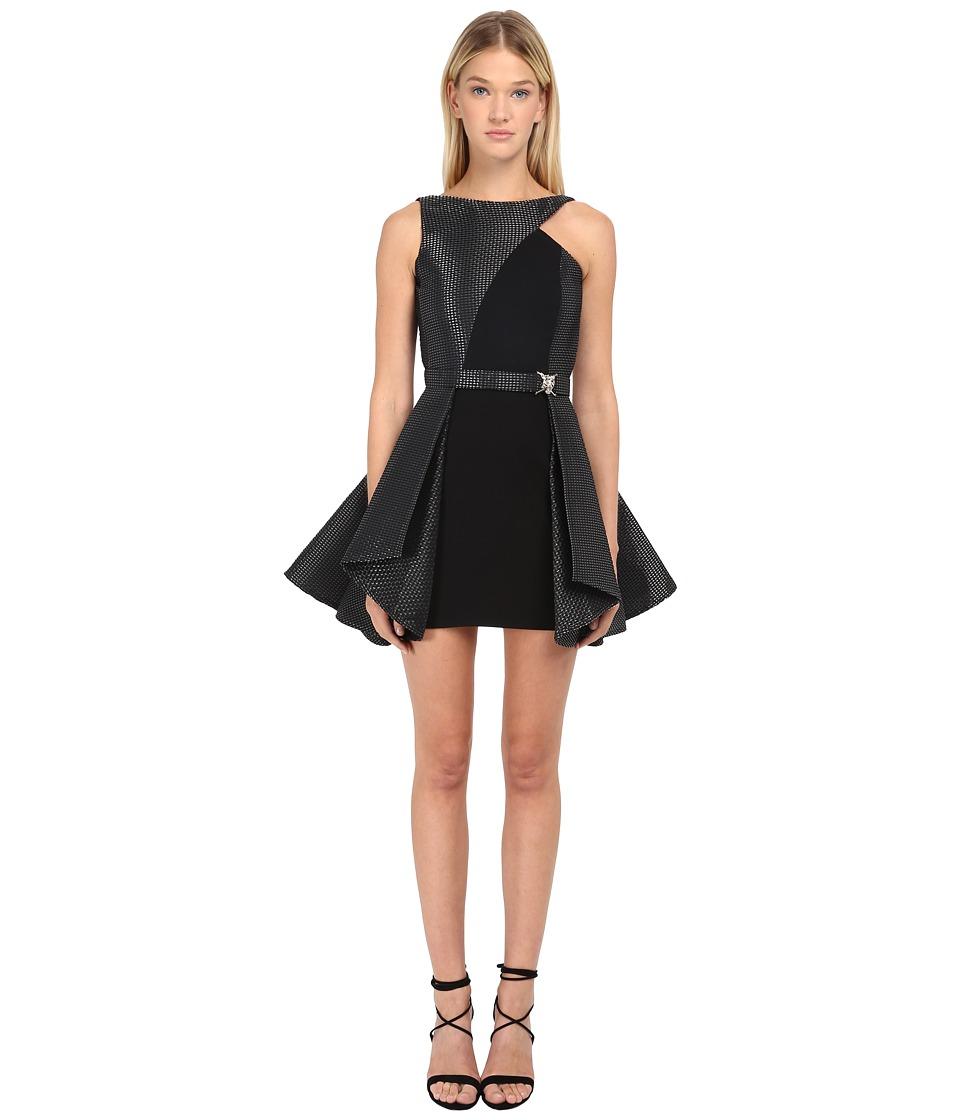 Philipp Plein Dress Company Black Womens Dress