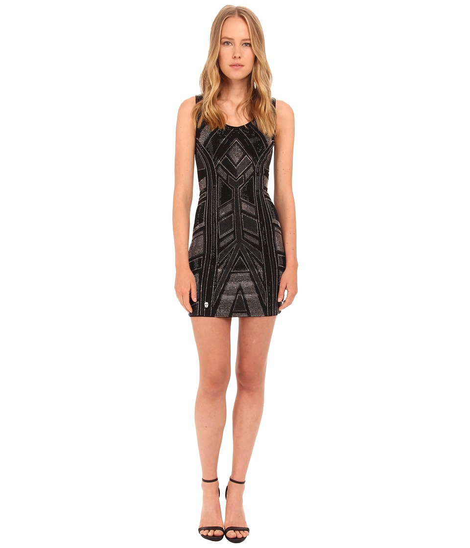 Philipp Plein Dress Time Black Womens Dress
