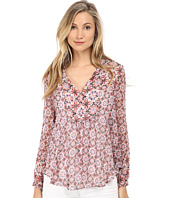 Rachel Zoe - Garcia Long Sleeve Bib Front Top