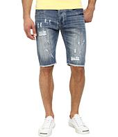 Staple - Broken Shorts in Dark Stone Wash