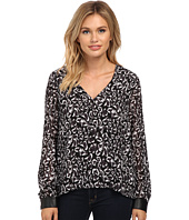 Sam Edelman - Alexis V-Neck Double Layer Blouse