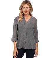 Sam Edelman - Kylie Shirt with Slit Zip Back Detail