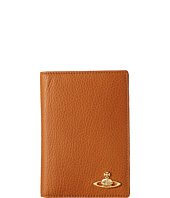 Vivienne Westwood - Brass Leather Passport Holder