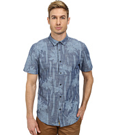 J.A.C.H.S. - Printed Chambray Short Sleeve Shirt