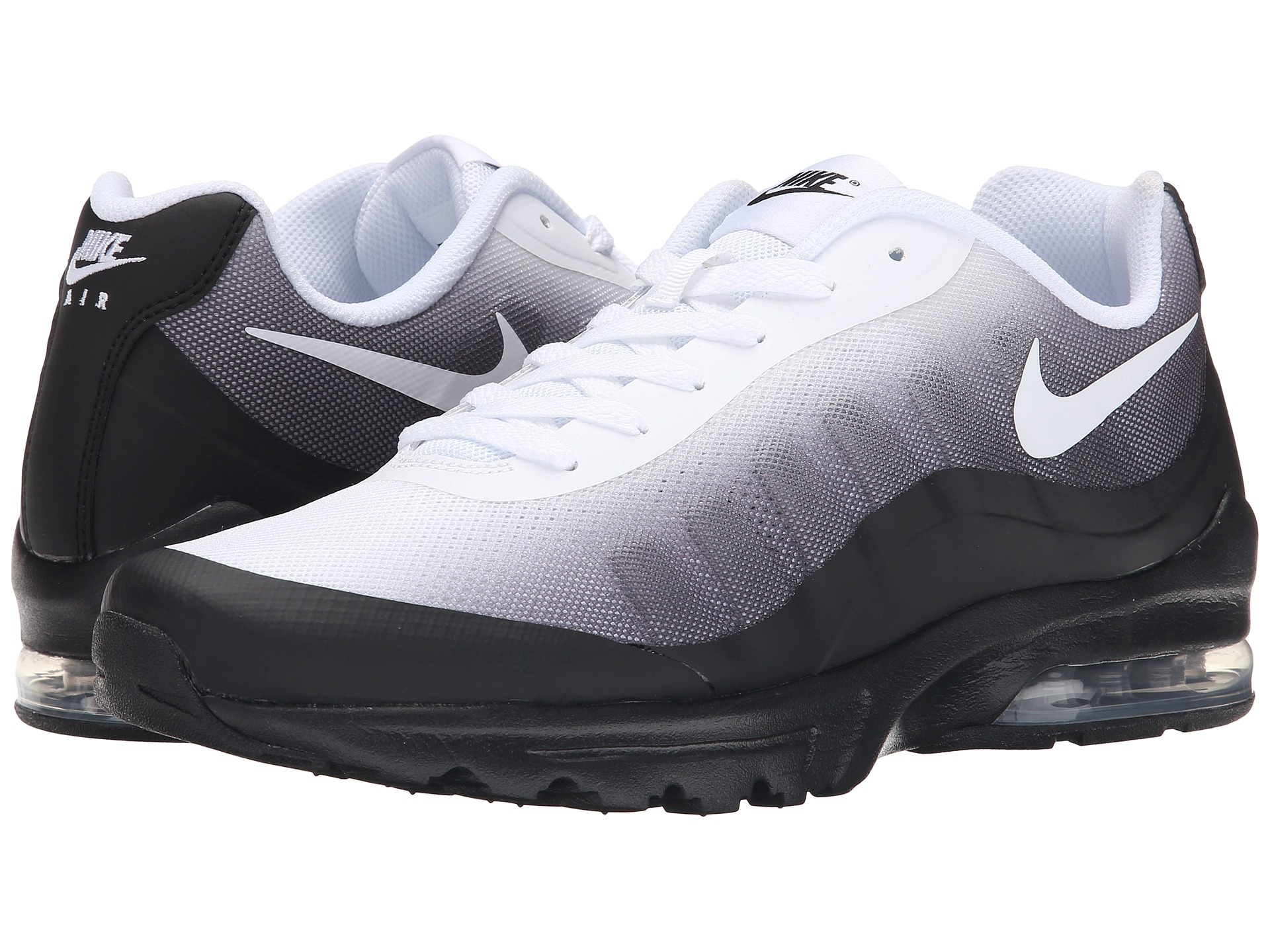 nike air max invigor black cool grey white free shipping both ways. Black Bedroom Furniture Sets. Home Design Ideas