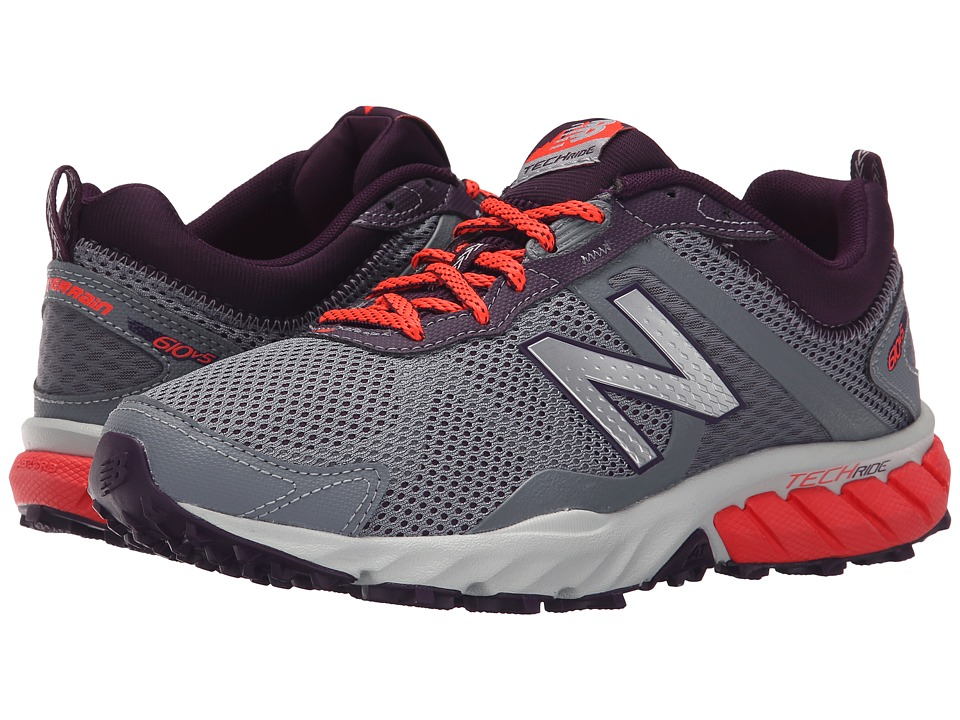 New Balance - T610v5 (Gunmetal/Flame) Womens Running Shoes