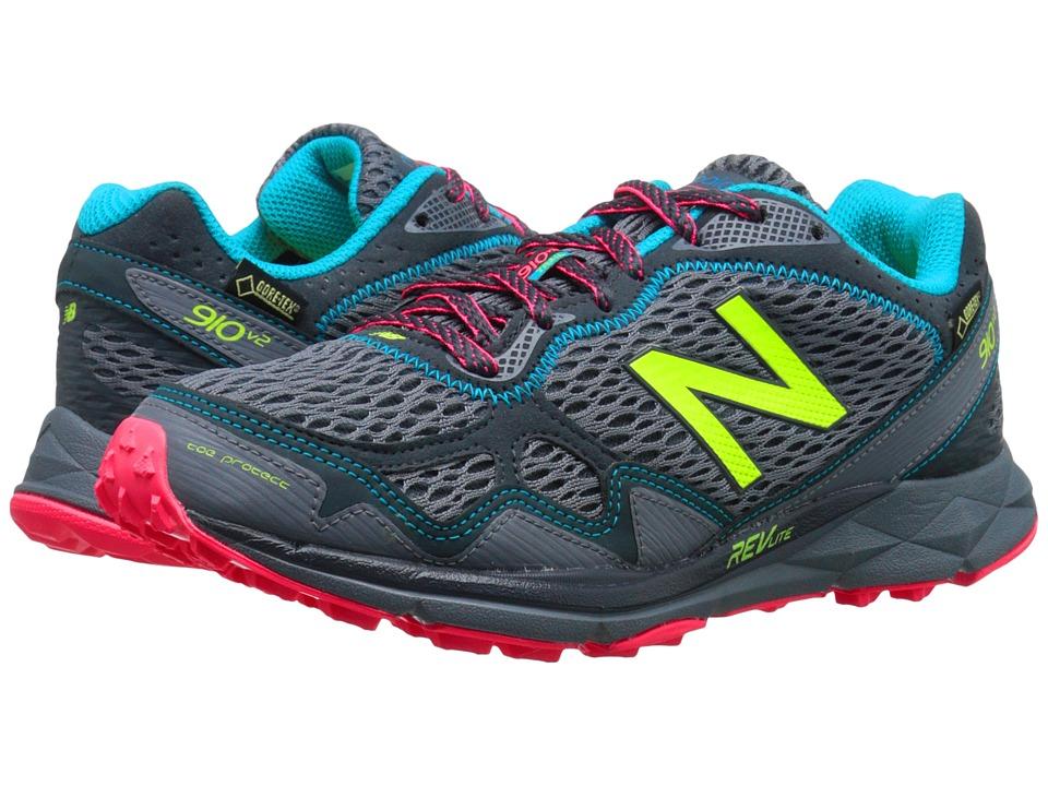 New Balance - T910v2 (Grey/Pink) Womens Running Shoes