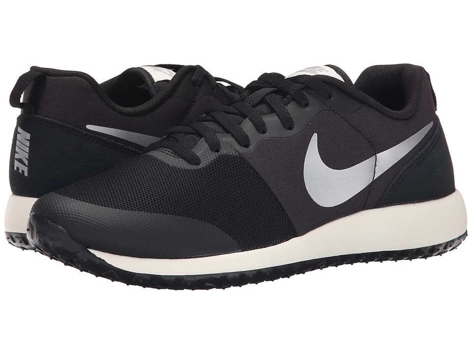 Nike - Elite Shinsen (Black/Sail/Metallic Silver) Womens Classic Shoes