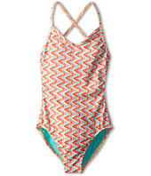 Roxy Kids - Catching Waves One-Piece Suit (Big Kids)