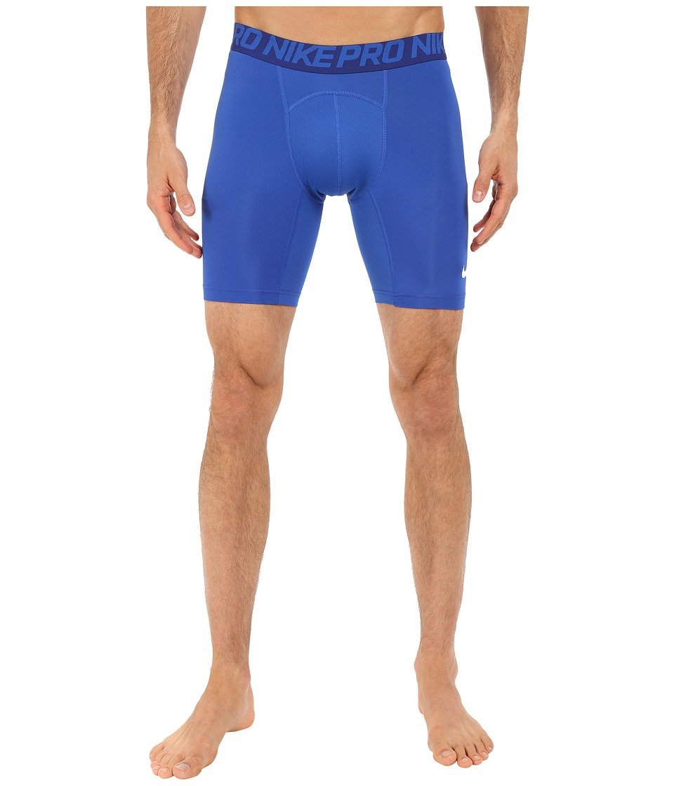 Nike Cool Compression 6 Shorts (Game Royal/Deep Royal Blue/White) Men
