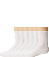 Jefferies Socks - Seamless Casual Crew 6 Pair Pack (Infant/Toddler/Youth)