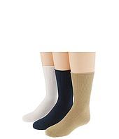 Jefferies Socks - Seamless Casual Crew 6 Pair Pack (Infant/Toddler/Little Kid/Big Kid)