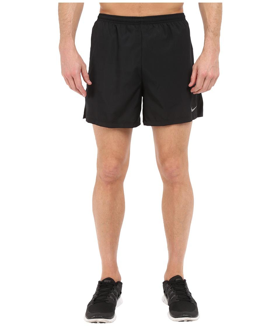 Nike 5 Challenger Shorts (Black/Anthracite/Reflective Silver) Men