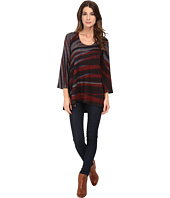 Nally & Millie - Handpainted Stripe High-Low Tunic
