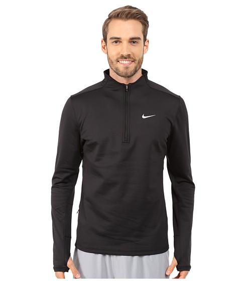 Nike Dri-FIT™ Thermal Half-Zip - Black/Black/Black/Reflective Silver