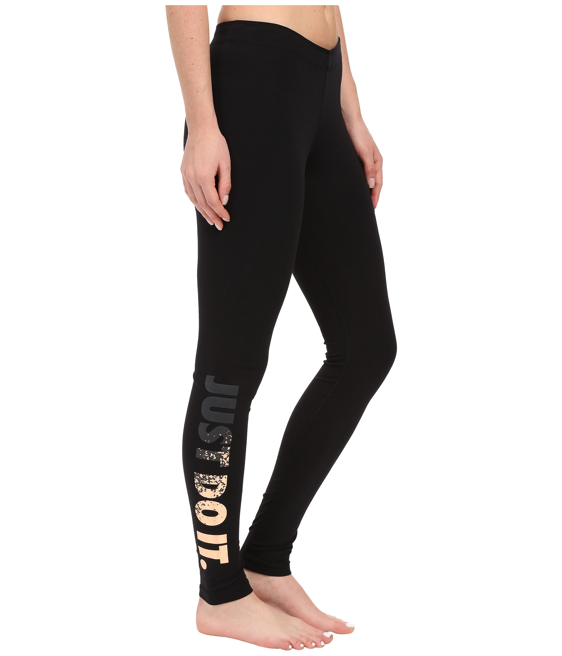 nike leggings a see just do it metal at. Black Bedroom Furniture Sets. Home Design Ideas