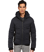 Armani Jeans - Stretch Nylon Puffer Jacket with Built-In Mittens