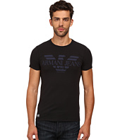 Armani Jeans - Eagle Stretch Cotton Jersey Tee