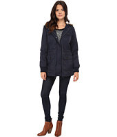 Levi's® - Coated Cotton Four-Pocket Hooded Parka w/ Sherpa Lining