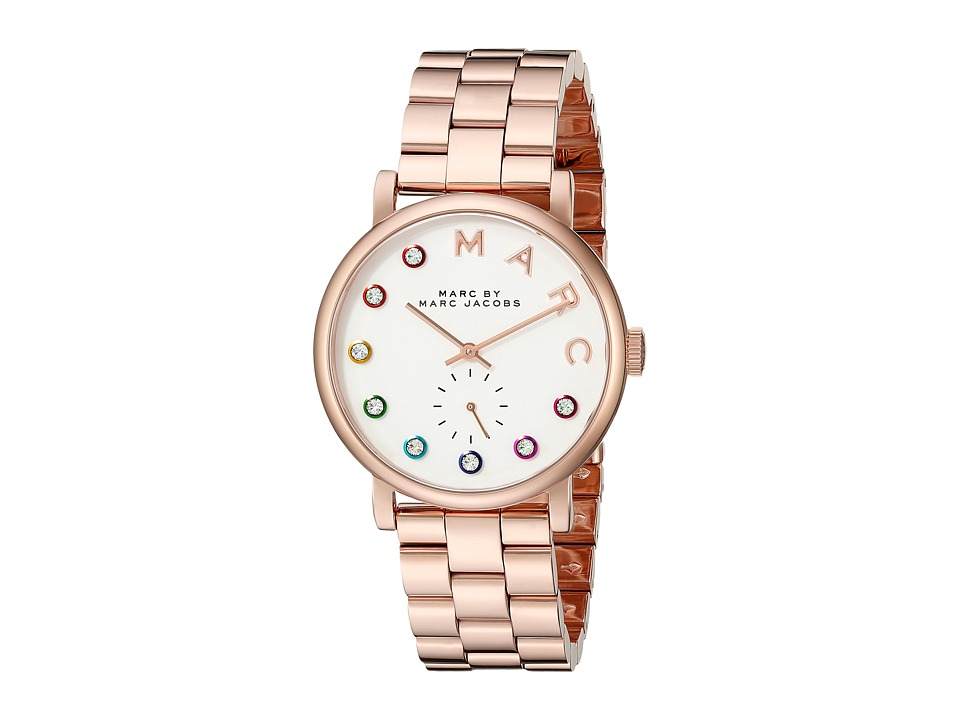 Marc by Marc Jacobs MBM3441 Baker Rose Gold Watches