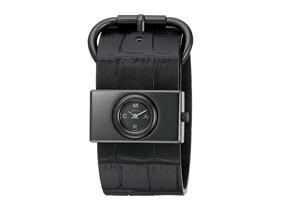 Marc by Marc Jacobs MBM1395 Viv Black Croco Analog Watches