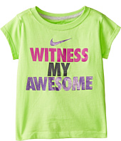 Nike Kids - Witness My Awesome Short Sleeve Tee (Toddler)