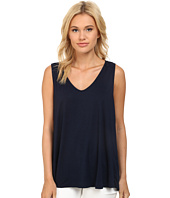 Three Dots - Fit & Flare Sleeveless Top