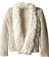 Splendid Littles - Knit Fur Open Jacket (Big Kids)