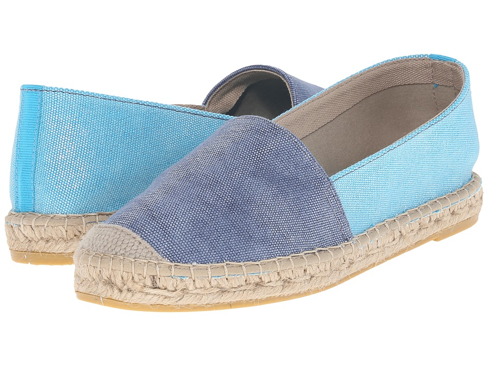 Vidorreta Paco Blue/Azul Womens Slip on Shoes