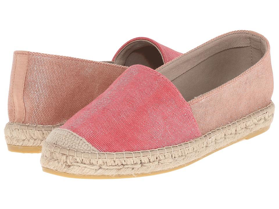 Vidorreta Paco Coral Cmbo Womens Slip on Shoes