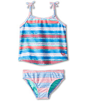 Roxy Kids - All Mixed Up Tankini Set (Toddler/Little Kids/Big Kids)