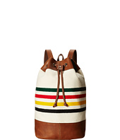 Pendleton - Leather Trim Duffle Backpack