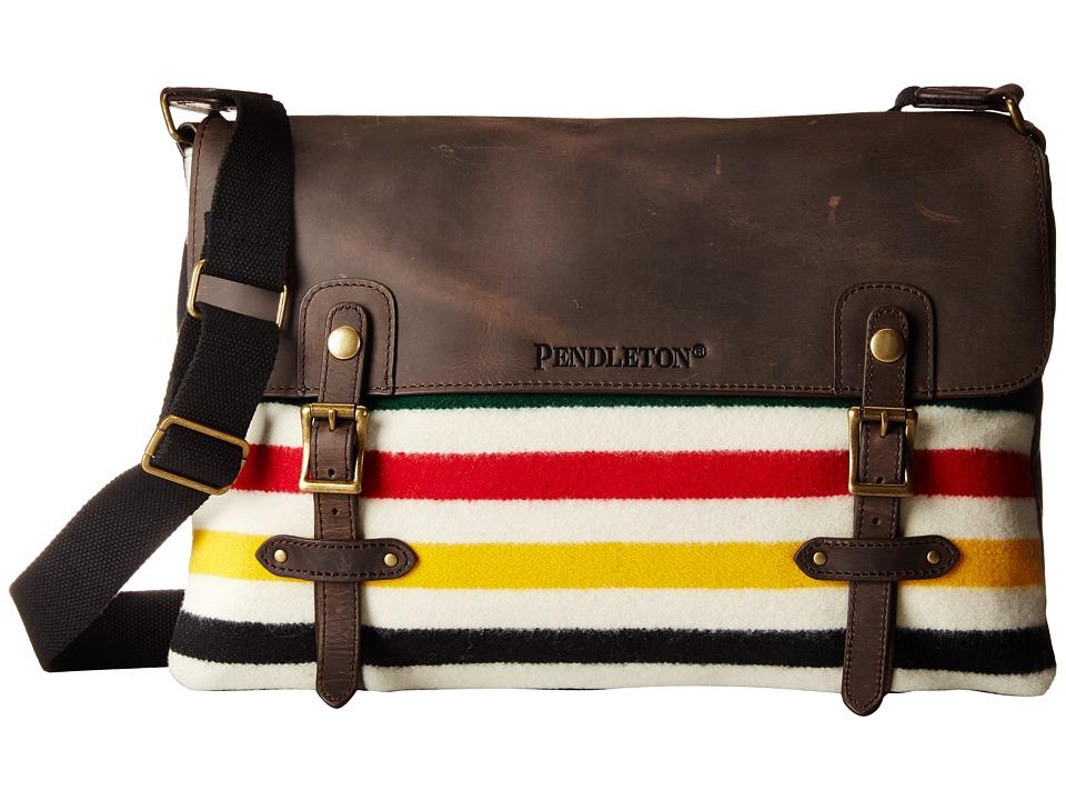 Pendleton - Mineral Messenger Bag (Glacier Park Stripe) Messenger Bags