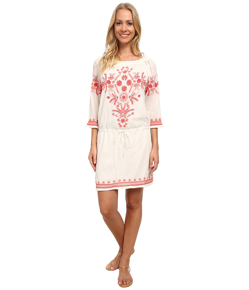 Tommy Bahama - High Twist Embroidery Dress Lace Womens Dress $158.00 AT vintagedancer.com