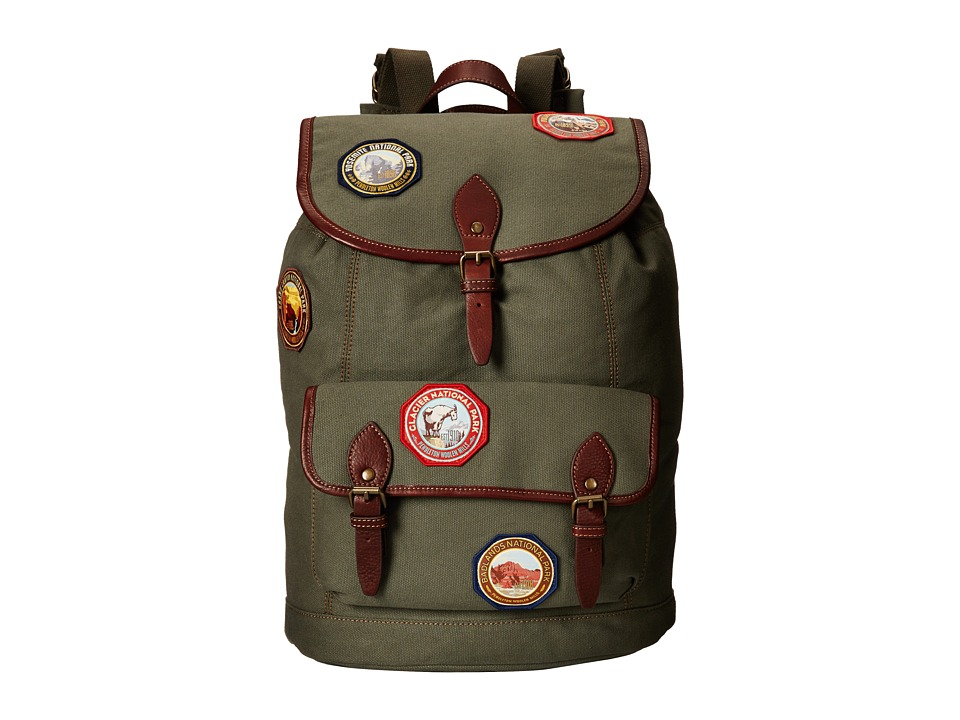 Pendleton Park Rucksack Olive Backpack Bags