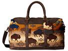 Pendleton Getaway Bag (Land Of The Buffalo)