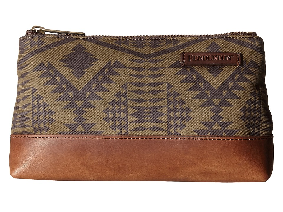 Pendleton - Zip Pouch (Diamond River Tonal) Travel Pouch