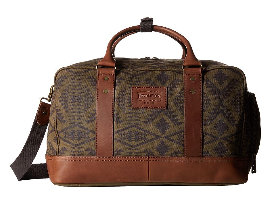 Pendleton - Carry-On Duffle Bag (Diamond River Tonal) Duffel Bags