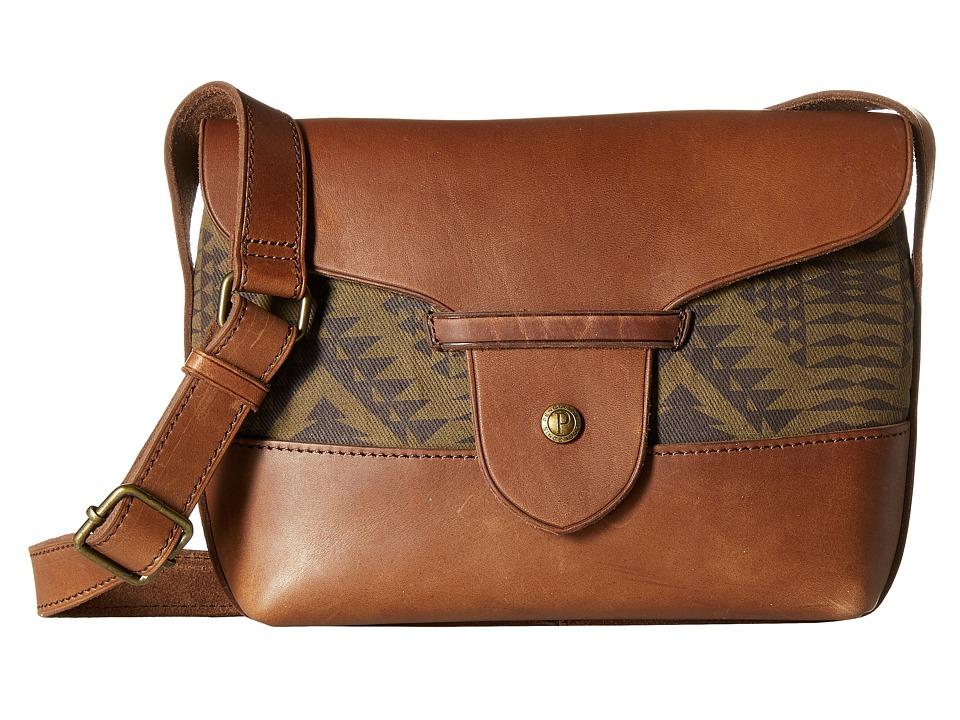 Pendleton - Satchel Bag (Diamond River Tonal) Satchel Handbags