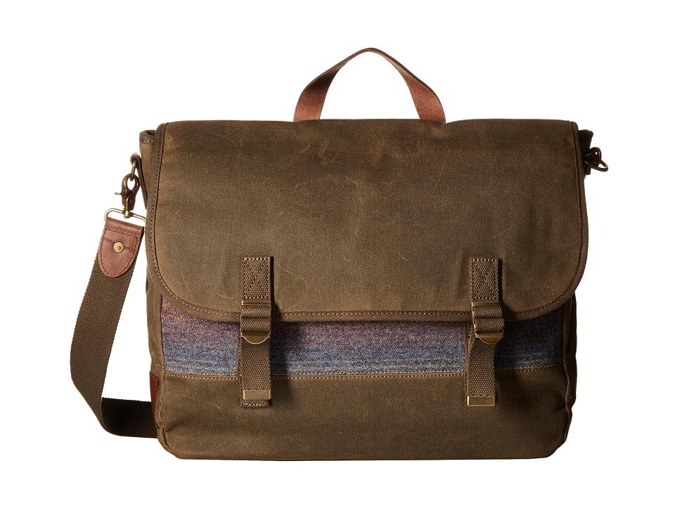 Pendleton - Rugged Messenger (Yakima Camp Stripe) Messenger Bags