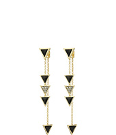House of Harlow 1960 - Triangle Trellis Drop Earrings