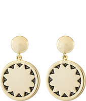 House of Harlow 1960 - Incan Sun Coin Drop Earrings