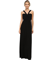 Faviana - Mesh Halter Long Gown 7672