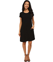 Allen Allen - Short Sleeve Dolman Dress