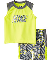 Nike Kids - Aop Poly Mesh Sleeveless Shorts Set (Toddler)