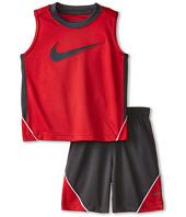 Nike Kids - Swoosh Poly Sleeves Shorts Set (Toddler)
